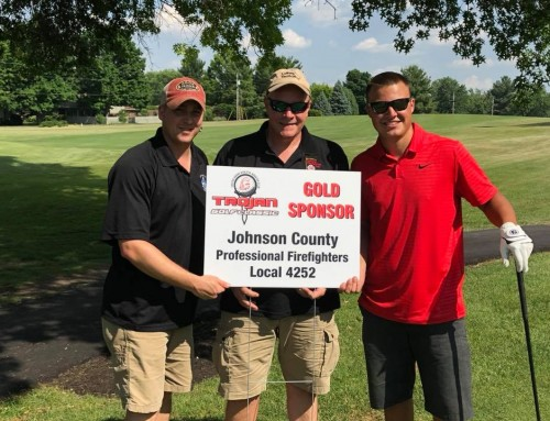 Local 4252 sponsors hole for CG Boosters